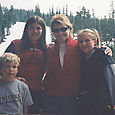 Skiing with Kelly McKenna- and Cody