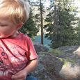 playing in the dirt - Lake Tahoe